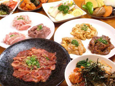 【スペシャルデイコース】国産牛2H食べ放題&ソフトドリンク飲み放題3980円(税別)