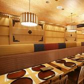 ●はないちもんめ● ゆったりお食事を楽しめるテーブル席ご用意しております。2~6名用テーブル席×1
