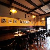 3階のお席は誕生日会や記念日、貸切パーティなどに☆3階のお席は、テーブル1つ1つがゆったりとしており、落ち着いた空間を演出♪店内のタイル、照明、小物、食器、絵画など全てにこだわりをもっているのでシチリアを存分に感じることができます☆銀座/ディナー/イタリアン/貸切/宴会