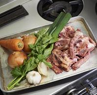 料理の基本は出し汁!イタリア料理の基本です♪