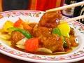 料理メニュー写真すぶた/肉団子の甘酢/八宝菜/豚キムチ/肉と玉子のいりつけ