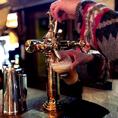 スタッフおすすめクラフトビールも多数あります。料理とのペアリングなども楽しめますのでお気軽にご相談下さい!