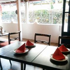 テラス席(3名~最大8名様)◆オープンテラスの落ち着いた空間で「地中海料理」を皆様でお楽しみ下さい♪