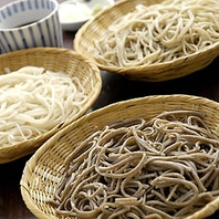 北海道産そば粉使った最高のそばを、銀座の和食料亭で…