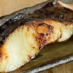銀ダラの西京味噌炙り焼き
