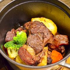 料理メニュー写真ALL¥500均一★牛肉の赤ワイン煮 ブルゴーニュ風
