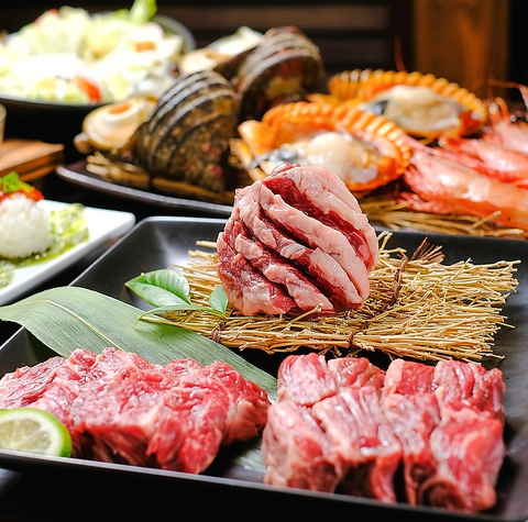 贅沢に焼肉を愉しむ【焼き家 ひとと】NEWオープン!デートや友達同士、各種宴会に♪