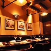 店内は絵画、テーブル、食器、照明、タイルまでシチリアにこだわっています。銀座の街中でイタリアそのものを感じることが出来る店内は特別なお食事、デート、記念日などにも最適です。デザートプレートのご提供も承っております。お気軽にご相談ください。銀座/イタリアン/貸切/女子会/歓送迎会/送別会