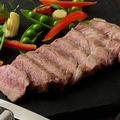 料理メニュー写真栗豚のステーキ ~キレのある柚子こしょうとと供に~