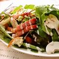 料理メニュー写真10種野菜のクスクスサラダ~しょうが醤油ドレッシングがけ~
