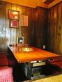 掘りごたつ席・テーブル席・お座敷席各種ご用意ございます。お気軽にお問い合わせください。