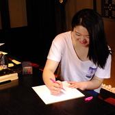 ≪色紙サービス(無料)≫送別会には必需品♪色ペンを無料で貸出しているのでみんなに寄せ書きしてもらおう!寄せ書きってもらうとやっぱり嬉しいものです☆
