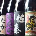 日本酒・焼酎の品揃えも豊富です!本格焼酎 ALL500円(税込550円)!