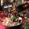 料理メニュー写真海鮮シャンパン蒸し鍋(2人前)