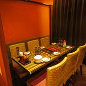 ≪テーブル6名×1≫テーブル席は広々としていて、たくさんお料理を注文しても安心♪全品お料理と相性抜群のお酒もご用意しております!