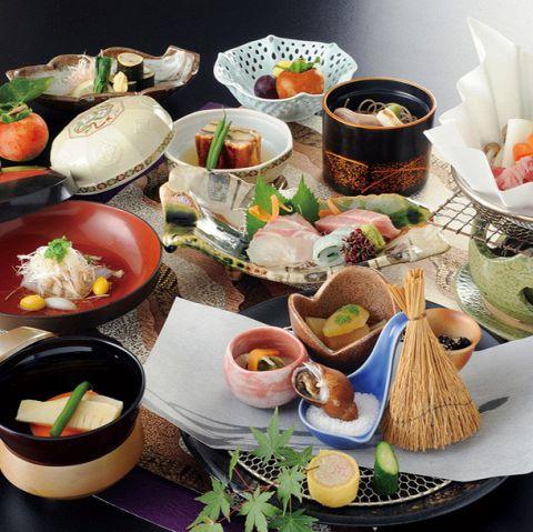 【1番人気】料理長特選本格和会席 飲み放題付¥8500コース※歓送迎会に人気!
