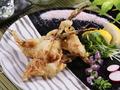 料理メニュー写真姫にんにくの天ぷら