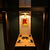 様々なシチュエーションに合わせた充実の個室空間♪