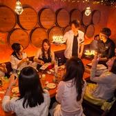 1つのテーブルでゆったり座れる♪誕生日、女子会、各種宴会に◎事前ご予約でバースデープレートのご用意も可能!