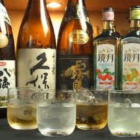 【焼酎・日本酒・梅酒も充実】