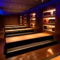 会社宴会をはじめ、幅広くご利用頂ける掘りごたつ個室/30名~50名でのご利用に最適