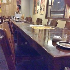 6名席もございます。1列18名のお席として使えます!
