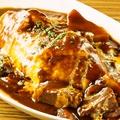 料理メニュー写真ロハスのビーフシチューオムライス