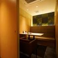 店内の奥には個室もご用意しておりますので宴会やお食事、デートにもおすすめ♪※お席のみ利用の際は個室料 1室¥2200(税込)いただきます