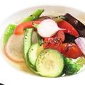 料理メニュー写真夏野菜の揚げ浸し