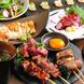 えんむすび自慢の料理を堪能できるコースを各種ご用意。
