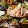 料理メニュー写真歯ごたえ&旨味抜群の『名古屋コーチンの濃厚すき焼き鍋』