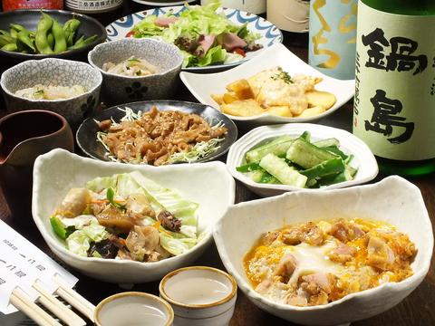 「武蔵境の皆様の心とお腹を満たしたい」がモットー♪鶏料理中心の和風創作料理です!