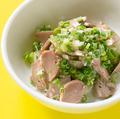 料理メニュー写真砂肝のネギ塩和え