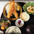料理メニュー写真一本入魂 エビフライ定食