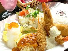料理メニュー写真日替わり 洋風プレートセット           (通常\1580)