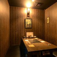 落ち着いた雰囲気の店内で新鮮で美味しい和食料理を♪