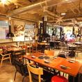 【特徴4】貸切最大65名様OK! オシャレな店内で人気の韓国料理や焼肉をお楽しみください。#心斎橋 #食べ放題 #飲み放題 #チーズダッカルビ#韓国料理#送別会#歓迎会