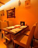 落ち着いた雰囲気で、ゆったりとお食事をお楽しみください。