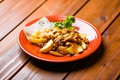 料理メニュー写真チリチーズポテト