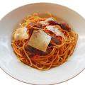 料理メニュー写真豚ほほ肉と玉ねぎのアマトリチャーナ(スパゲティ)