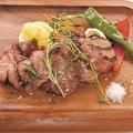 料理メニュー写真国産上選牛タンのグリル ゲランド塩~海の果実~とご一緒に