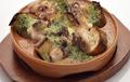 料理メニュー写真イイダコのエスカルゴ風パセリバター焼き