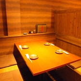 半個室のテーブルはお食事使いやランチにも