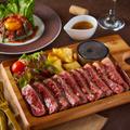 料理メニュー写真熟成肉 牛ステーキ200g