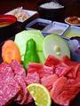 料理メニュー写真豊後牛焼肉定食