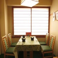 4名様までのテーブル個室。