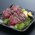 料理メニュー写真鰹藁焼き塩タタキ