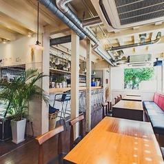 イタリアン hermit green cafe ハーミットグリーンカフェ 京都大山崎店