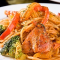 料理メニュー写真季節野菜のトマトパスタ