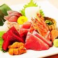 料理メニュー写真お刺身の盛り合わせ5種